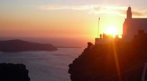 «Ηλιοβασίλεμα στο Ημεροβίγλι» • Γιάννης Φιλιππίδης